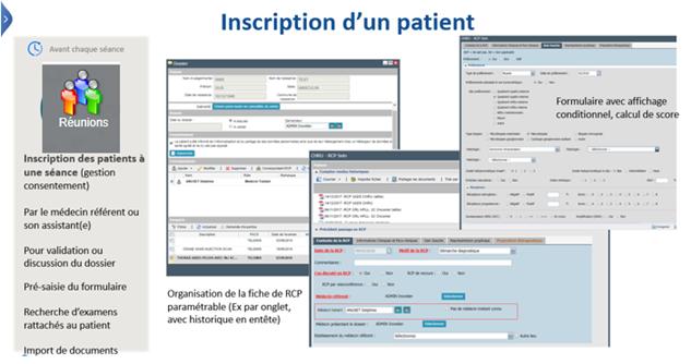 Inscription patient WEB DCR